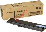 Тонер-картридж Kyocera FSC8008N type TK-800 Yellow 10000стр. (o)